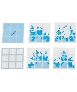 3x3-blue-flames