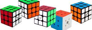 Rubik's kub och liknande kuber