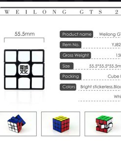 Moyu Weilong GTS2 egenskaper