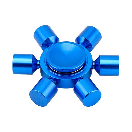hex-fidget-spinner-blue