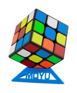 3x3 Rubiks kub Speedcube - Moyu RS3 M Svart