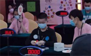 3x3-världsrekord-5,48-sekunder-Ruihang-Xu